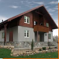 Строительство домов из комбинированных материалов