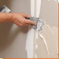 Выравнивание поверхности стен гипсокартоном