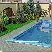 Обустройство бассейна из бетона и нержавеющей трубы