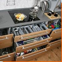 Эргономика кухни. Размещаем посудомойку, холодильник