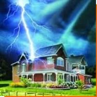 Защита от молнии частного дома