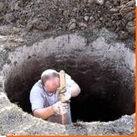 Как на даче сделать колодец