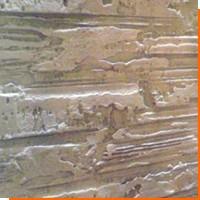 Отделка стен штампами и валиками
