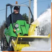 Малая снегоуборочная техника
