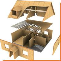 Преимущества строительства дома из сип-панелей