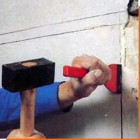 Монтаж электропроводки, как штробить стены