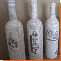Трафаретная печать на флаконах