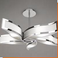 Кованые потолочные люстры и светильники