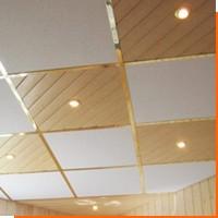 Потолки из клеевых панелей