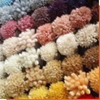 Волокна используемые в производстве ковров