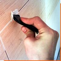 Обновление плиточных швов на полу