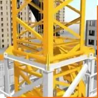 Как собирают башенные краны