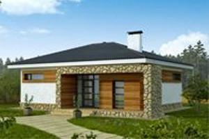 Готовый проект дома из керамзитоблоков 8х10